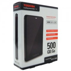 Toshiba Canvio Basics 2.5 Inch 500GB - USB 3.0 Portable Eksternal Hard Drive