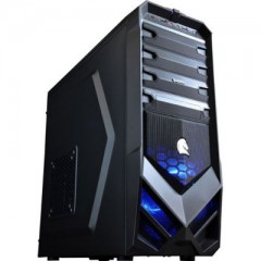 Dazumba D-Vito 783 Mid Tower PC Gaming Case - No PSU (Black)
