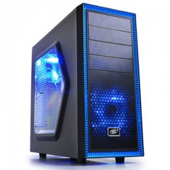 DEEPCOOL Tesseract SW Mid Tower PC Gaming Case - No PSU (Black)