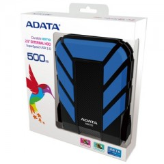 ADATA DashDrive Durable HD710 2.5 Inch 500GB - USB 3.0 External Hard Drive