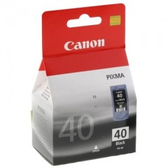Canon PG 40 Black for Pixma MX / MP / IP Series - Original Inkjet Printer Cartridge
