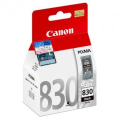 Canon PG 830 Black for Pixma MX / MP / IP Series - Affordable Inkjet Printer Cartridge