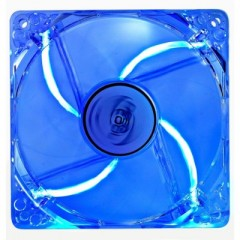 DEEPCOOL XFAN 120L/B - Blue LED 120mm PC Case Cooling Fan