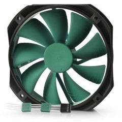 DEEPCOOL Gamer Storm GF140 - Green 140mm Silent PC Case Cooling Fan