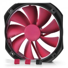 DEEPCOOL Gamer Storm GF140 - Red 140mm Silent PC Case Cooling Fan