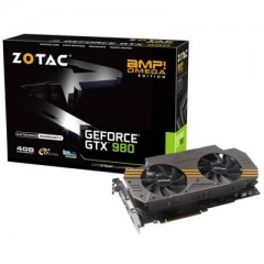 ZOTAC NVidia GeForce GTX 980 AMP! Omega Edition 4GB DDR5 PCI-E VGA Card