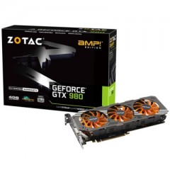ZOTAC NVidia GeForce GTX 980 AMP! Edition 4GB DDR5 PCI-E VGA Card