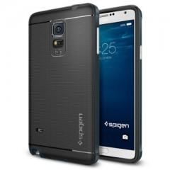 Spigen Neo Hybrid Metal Slate - Samsung Galaxy Note 4 Case