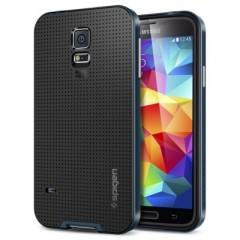 Spigen Neo Hybrid Metal Slate - Samsung Galaxy S5 Case