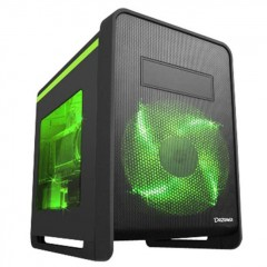 Dazumba D-Tec 921 Mini Tower PC Gaming Case - No PSU (Black)