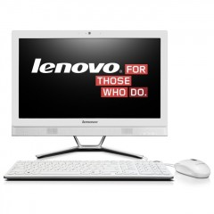 Lenovo C460 21.5 Inch All-In-One Desktop i3 Computer (White)