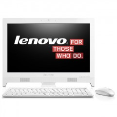 Lenovo C260 19.5 Inch All-In-One Desktop J1800 Celeron Computer (White)