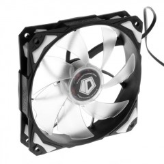 ID-COOLING NO-12025-W - White LED 120mm PC Case Cooling Fan