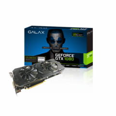 Galax NVidia GeForce GTX 1080 EXOC (Extreme Overclock) 8GB DDR5X PCI-E VGA Card