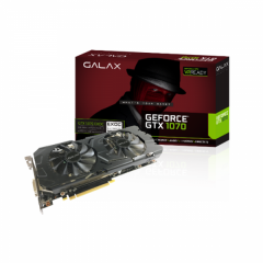Galax NVidia GeForce GTX 1070 EXOC (Extreme Overclock) 8GB DDR5 PCI-E VGA Card