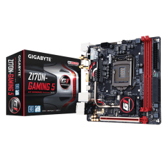 Gigabyte M-ITX Motherboard GA-Z170N-Gaming 5 LGA1151 (Z170, DDR4, SATA3, USB3