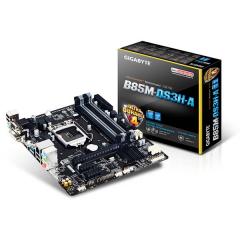 Gigabyte M-ATX Motherboard GA-B85M-DS3H-A LGA1150 (B85, DDR3, SATA3, USB3