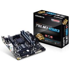 Gigabyte M-ATX Motherboard GA-78LMT-USB3 AM3+ (DDR3, SATA3, USB3)