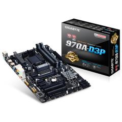 Gigabyte ATX Motherboard GA-970A-D3P AM3+ (DDR3, SATA3, USB3)