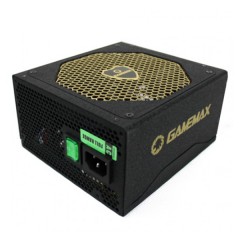 GameMax GM-500G 500W 80+Gold - Semi Modular Power Supply Unit ATX