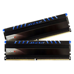 Avexir Core Blue LED Memory Kit 32GB Dual Channel DDR4 PC RAM (AVD4UZ124001616G-2COB)