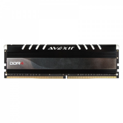 Avexir Core White LED Memory 16GB Single Channel DDR4 PC RAM (AVD4UZ124001616G-1COW)