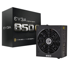 EVGA 850W 80+Gold - Full Modular Power Supply Unit ATX