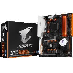 Gigabyte ATX Motherboard GA-Z270X-GAMING 5 LGA1151 (Z270, DDR4, SATA3, USB3)