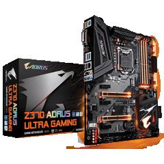 Gigabyte ATX Motherboard GA-Z370-Aorus Ultra Gaming LGA1151 (Z370, DDR4, SATA3, USB3)