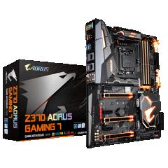 Gigabyte ATX Motherboard GA-Z370-Aorus Gaming 7 LGA1151 (Z370, DDR4, SATA3, USB3)