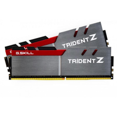 Gskill Trident-Z Memory Kit 16GB Dual Channel DDR4 PC RAM (F4-3200C16D-16GTZB)