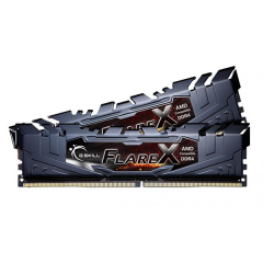 Gskill Flare-X Memory Kit 16GB Dual Channel DDR4 PC RAM (F4-2666C15D-16GVR)