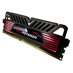 Geil EVO POTENZA Memory 4GB Single Channel DDR4 PC RAM (GPB44GB2400C16SC)