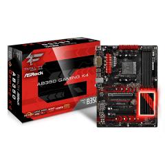 Asrock ATX Motherboard Fatal1ty AB350 Gaming K4 AM4 (DDR4, SATA3, USB3)