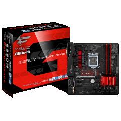 Asrock M-ATX Motherboard Fatal1ty B250M-Perfomance LGA1151 (DDR4, SATA3, USB3)