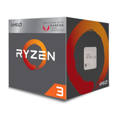 AMD Ryzen 3 2200G AM4 Quad Core Processor with Radeon™ Vega 8 Graphics (3.5 GHz Cache 4M)