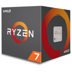 AMD Ryzen 7 2700 AM4 Octa Core Processor (3.2 GHz Cache 16M)