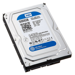 Western Digital Blue 500GB 3.5 Inch Internal SATA3 Hardisk
