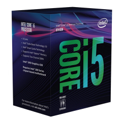 Intel Core i5-8600 LGA 1151 Coffeelake Hexa Core Processor (3.1 GHz Cache 9M)