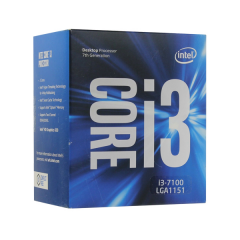Intel Core i3-7100 LGA 1151 Kabylake Dual Core Processor (3.9 GHz Cache 3MB)