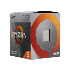 AMD Ryzen 5 3400G AM4 Quad Core Processor (3.7 GHz Cache 4M)