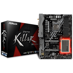 Asrock ATX Motherboard Z370 Killer SLI LGA1151 (Z370, DDR4, SATA3, USB3)