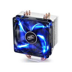 DEEPCOOL GAMMAXX 400 -  CPU Cooler with 12cm Blue LED Fan