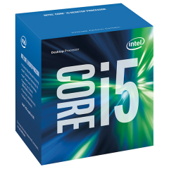 Intel Core i5-7400 LGA 1151 Kabylake Quad Core Processor (3.5 GHz Cache 6M)