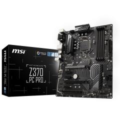 Msi ATX Motherboard Z370 - PC Pro LGA1151 (Z370, DDR4, SATA3, USB3)