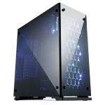 Segotep SG-K7 Full Tempered Glass MiddleTower PC Gaming Case - No PSU (Black)