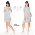 Milly Grey Stripe MY123