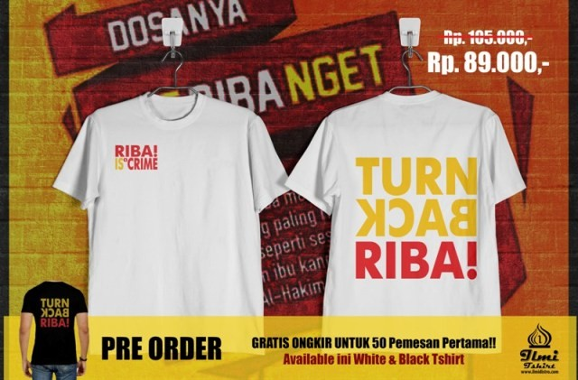 Tshirt Turn Back Riba