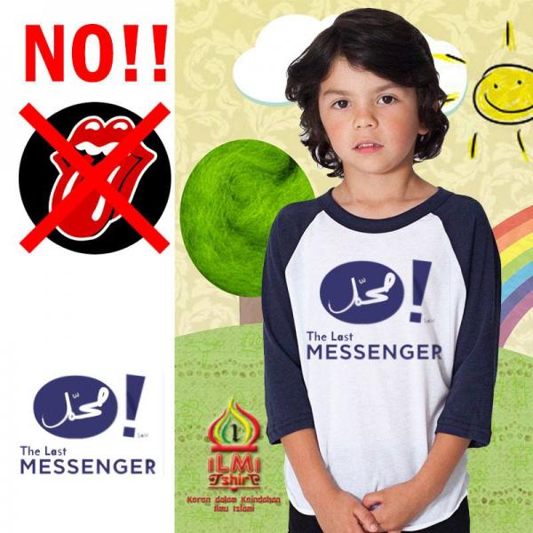 Tshirt Anak Sholeh - The Last Messenger