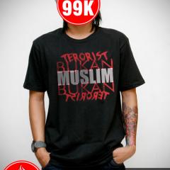 Tshirt Dakwah - Muslim Bukan Terorist